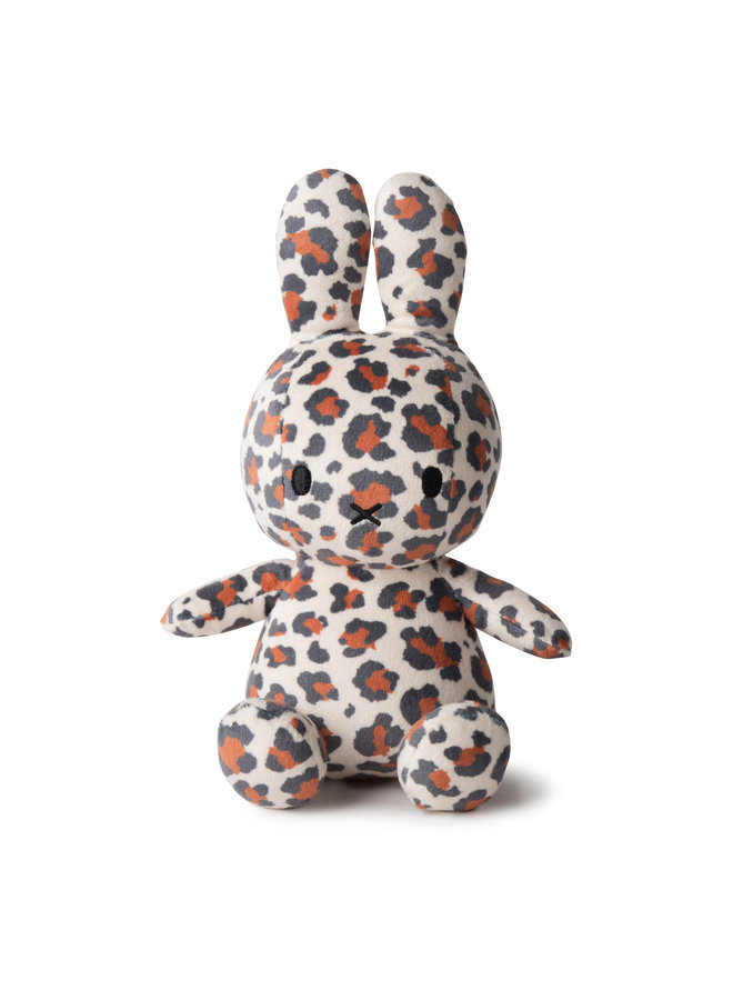 Miffy Sitting All Over LEOPARD PRINT- 23 cm