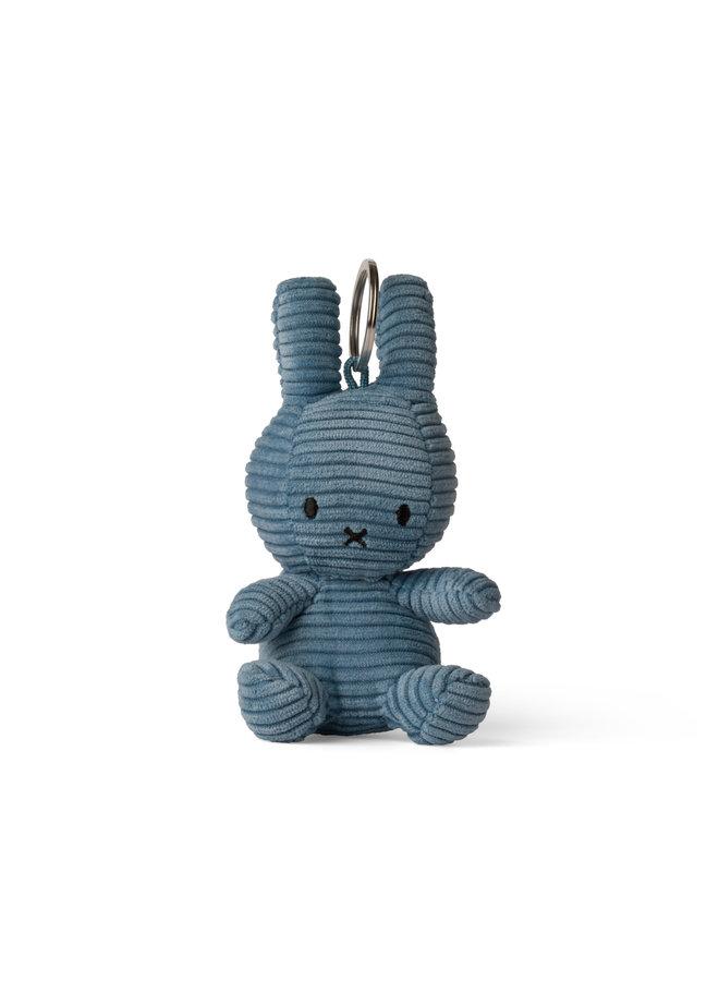 Miffy Cord Schlüsselanhänger blau 10cm