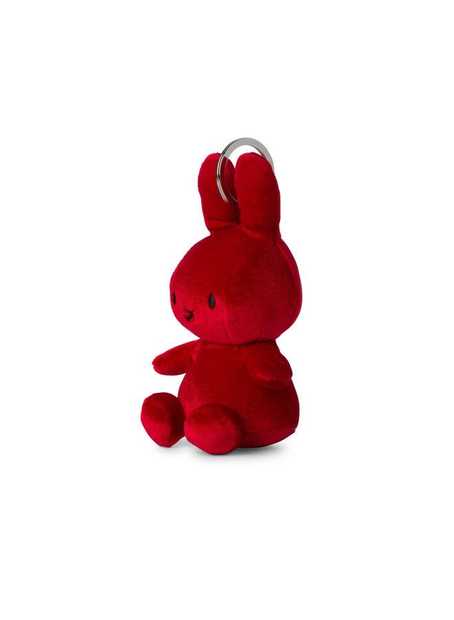 Miffy Velvet Candy Red Schlüsselanhänger keychain 10cm