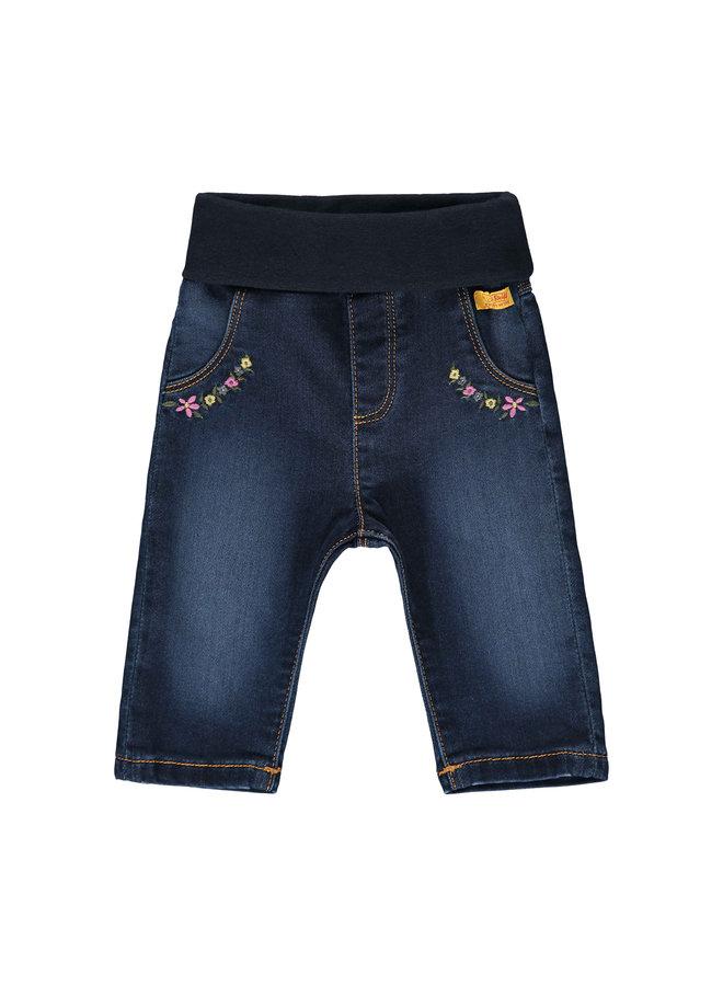 Steiff Baby Jeans Blumen