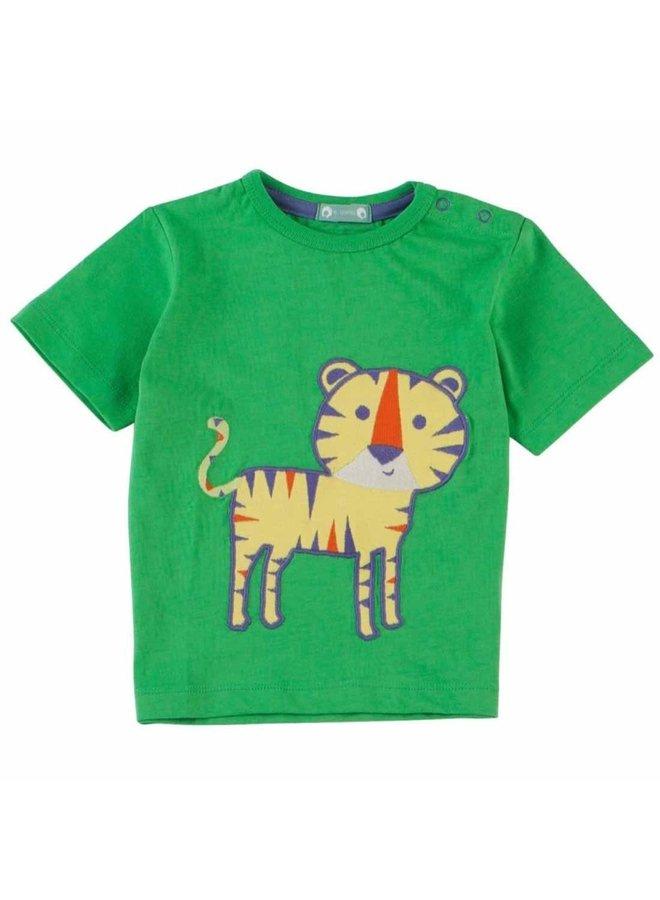 Piccalillly T-Shirt Tiger grün