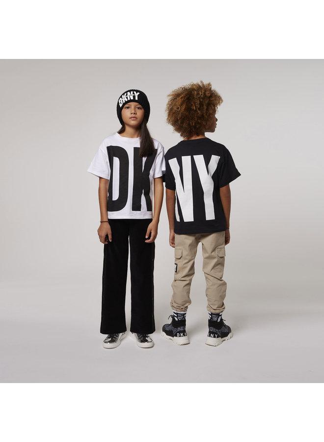 DKNY KIDS Mütze mit 3D Logo schwarz