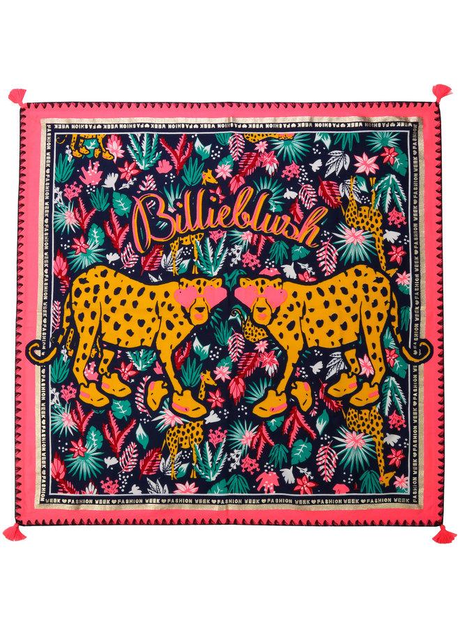 Billieblush Schal Leoparden Fashion Week