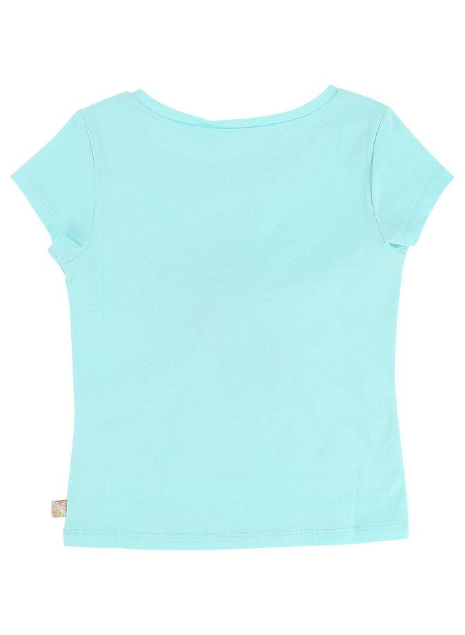 Billieblush T-Shirt Kaktus türkis