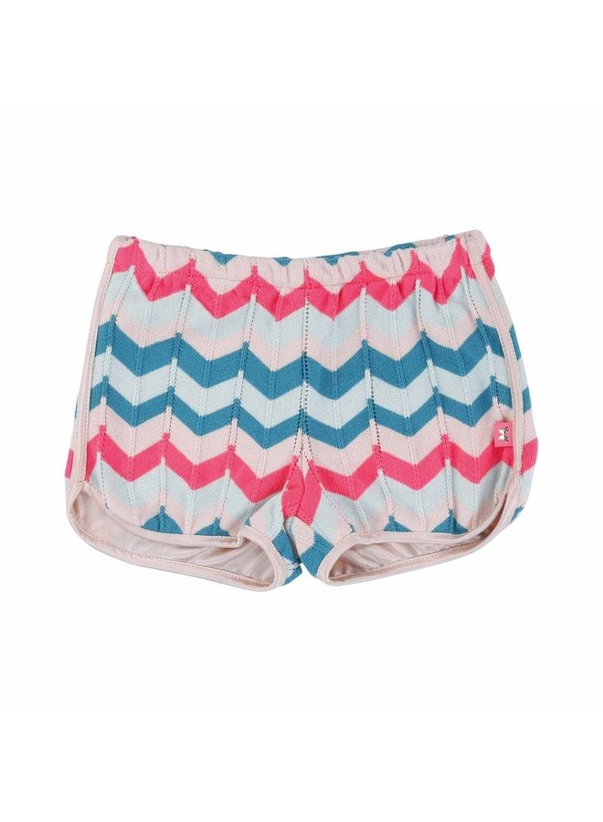 Billieblush Shorts Knitwear Zickzackmuster