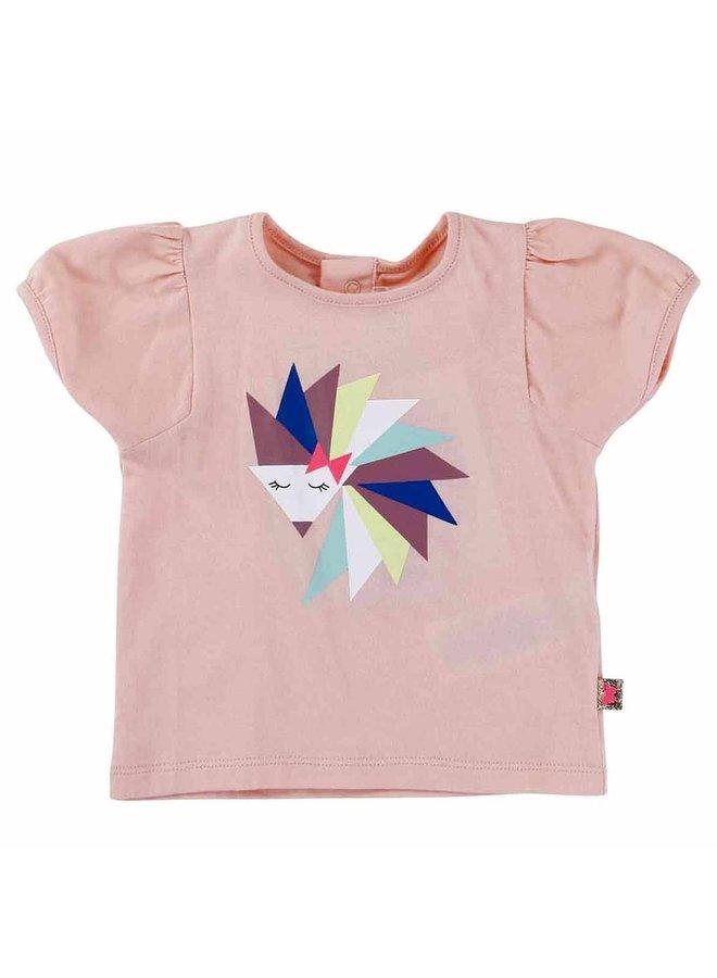 Billieblush T-Shirt Igel rosa