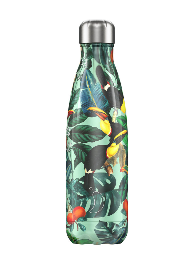 Chilly's Trinkflasche 500ml Tropical Edition Toucan