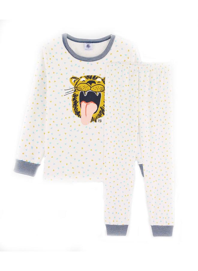Petit Bateau Pyjama Tiger