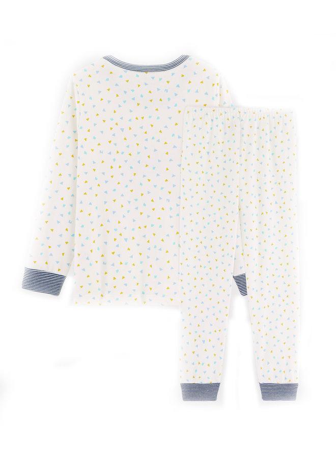 Petit Bateau Pyjama Tiger creme