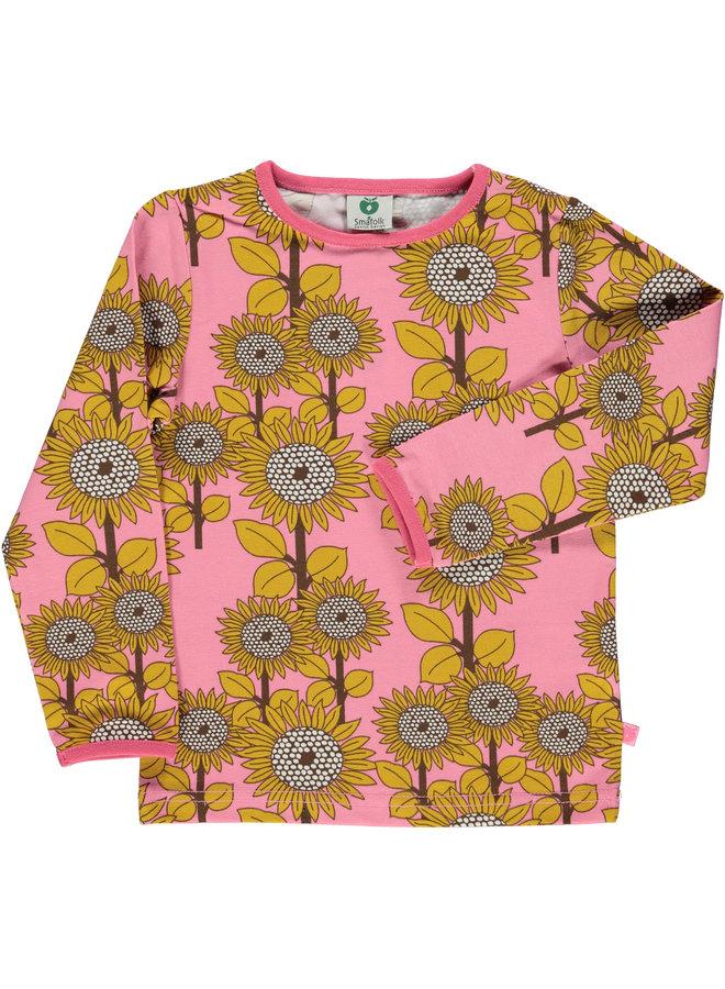 SMAFOLK Langarmshirt allover Sonnenblumen