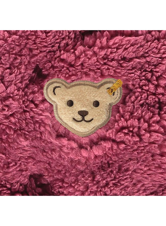 Steiff Baby Fleecejacke beige aus  plüschigem Teddy-Fleece malaga