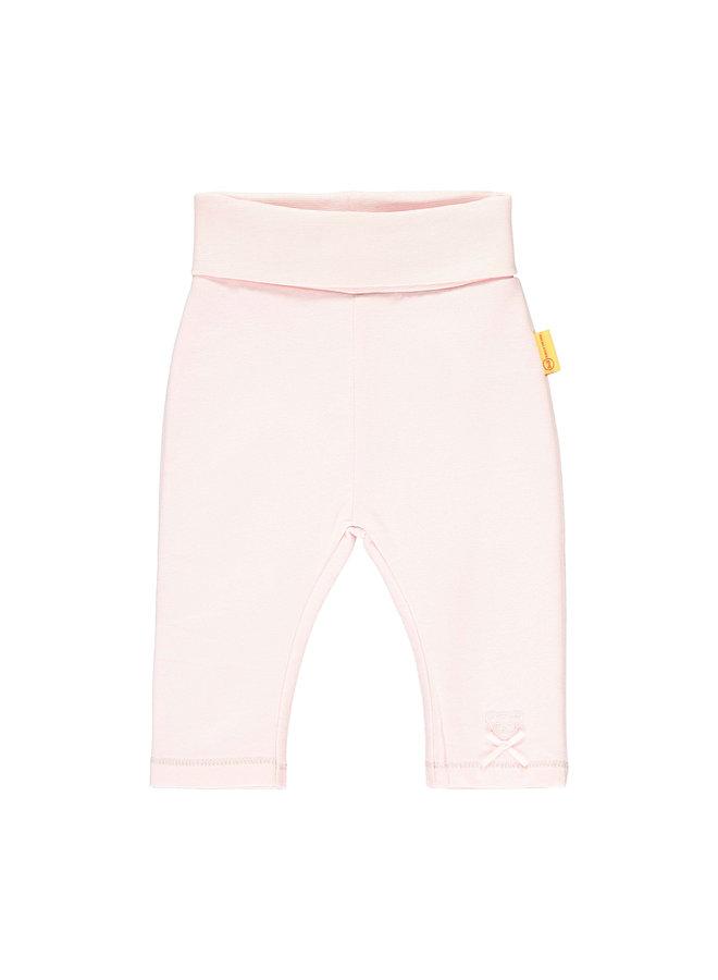 Steiff Baby Leggings rosa mit Schleifchen