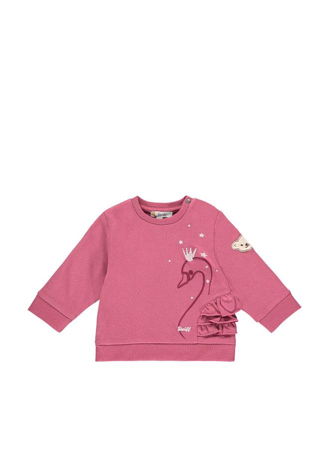 Steiff Baby Sweatshirt Romantik malaga