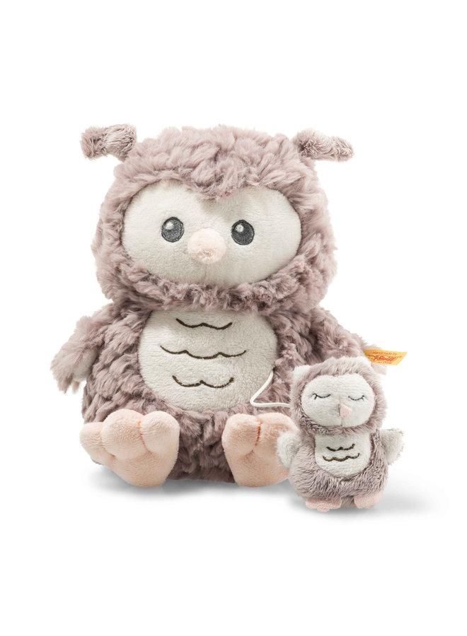 Steiff Soft Cuddly Friend Eule Ollie Spieluhr 21 cm