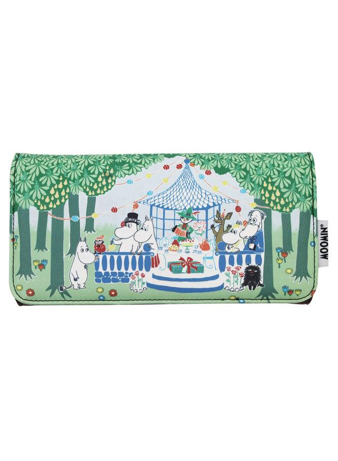 House of Disaster Brieftasche Geldbörse Moomin Party
