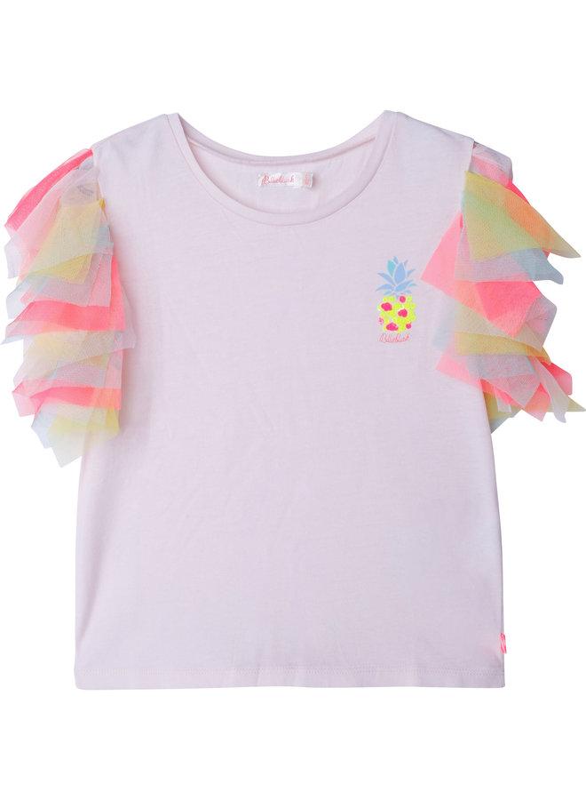 Billieblush T-Shirt Pailletten Ananas