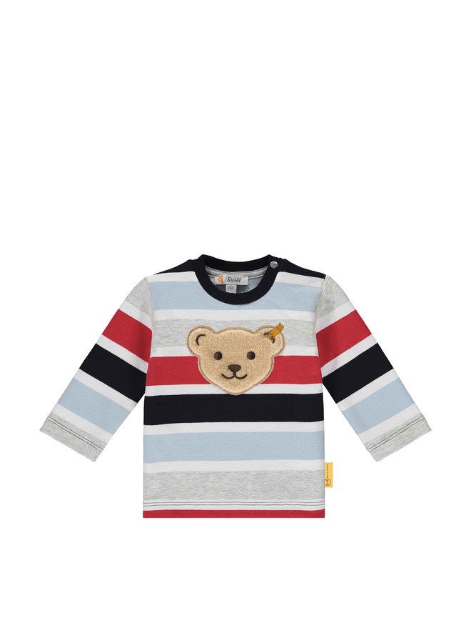 Steiff Baby Sweatshirt Blockstreifen