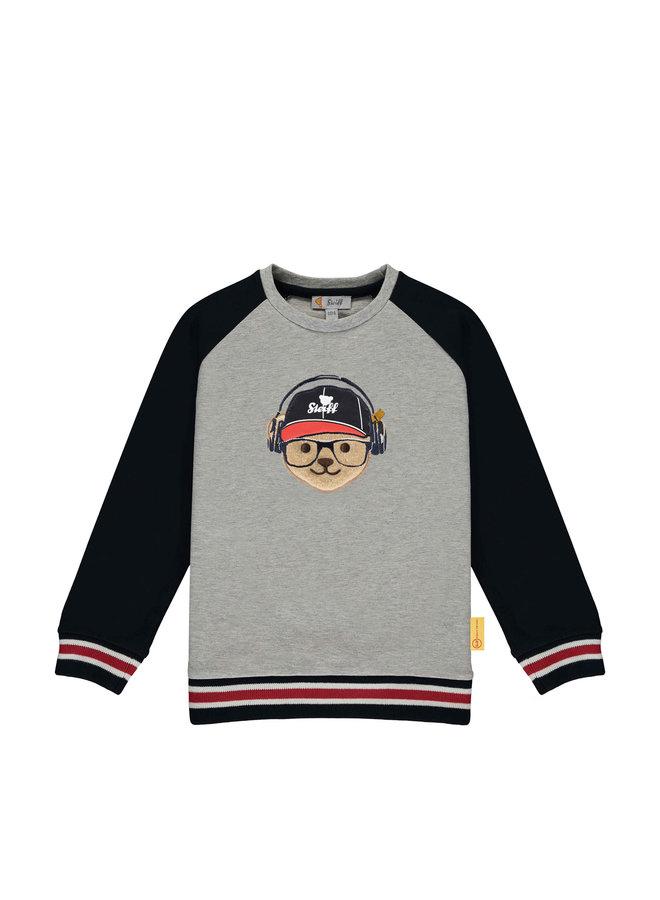 Steiff Sweatshirt mit Raglanärmeln