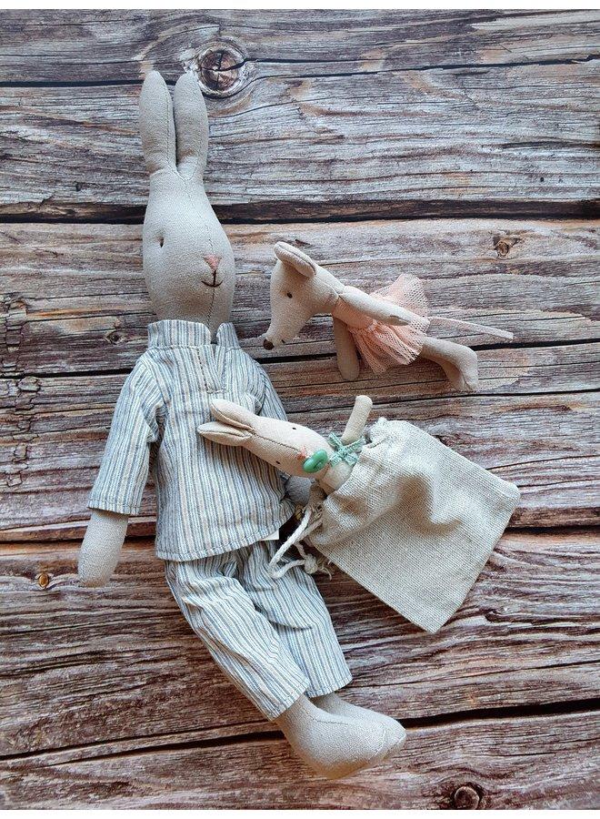 Maileg Hase im Pyjama 32cm bunny & rabbit  collection