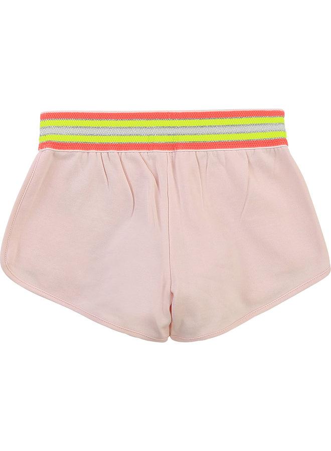 Billieblush Shorts Sterne rosa neon glitzer