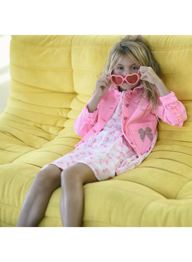 BILLIEBLUSH  Sonnenbrille Herz pink