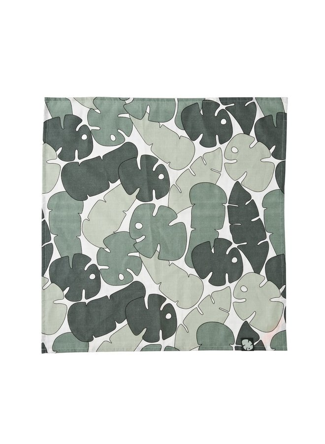 Done By Deer Musselin Tuch Tiny tropics Green 2 er pack