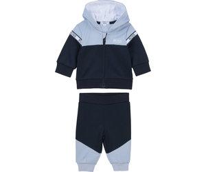 Hugo Boss J05819 849 mit Kapuze Baby Jungen Trainingsanzug Blau Jogginganzug