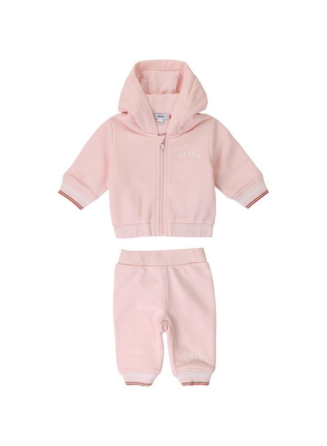 BOSS Baby Jogginganzug rosa