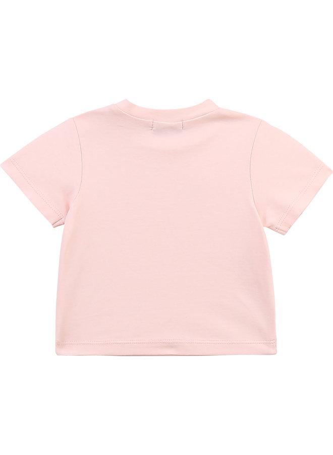 HUGO BOSS Baby T-Shirt Logo Little Boss rosa rosegold