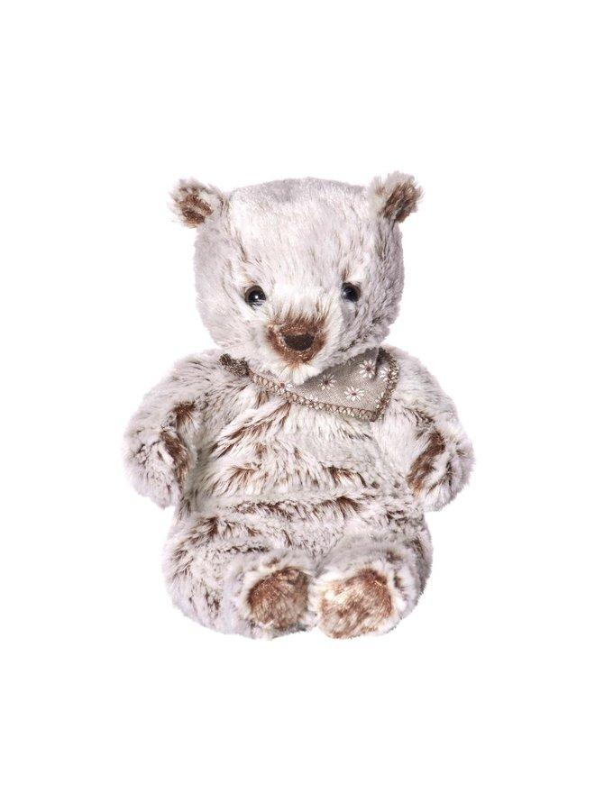 Maileg kleiner flauschiger Eisbär weiß braun 24cm