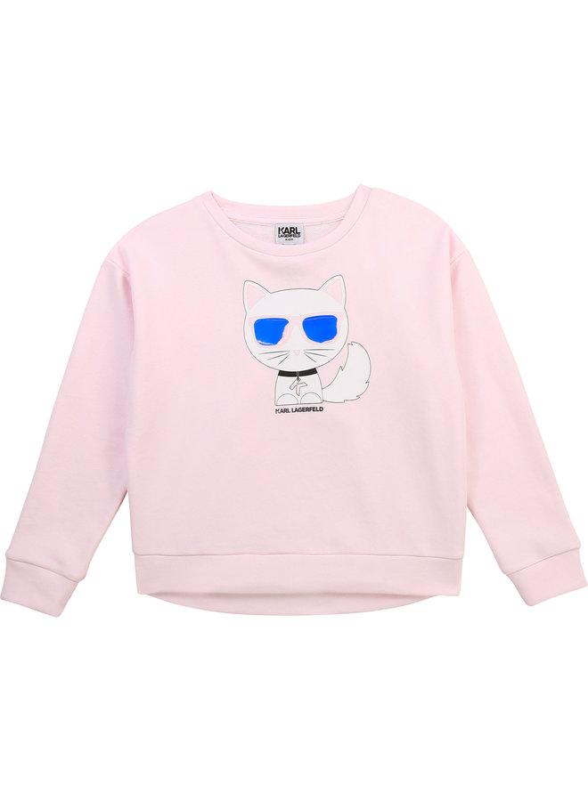 KARL LAGERFELD KIDS Sweatshirt rosa