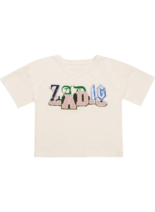 Zadig & Voltaire T-Shirt Vintage Logo Print