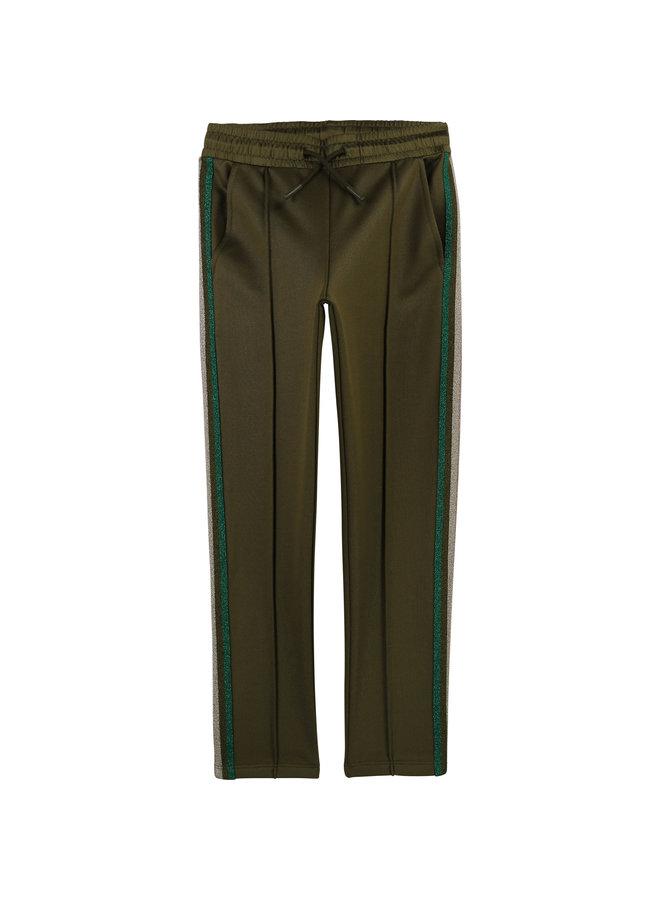 Zadig & Voltaire Jogginghose khaki mit Streifen