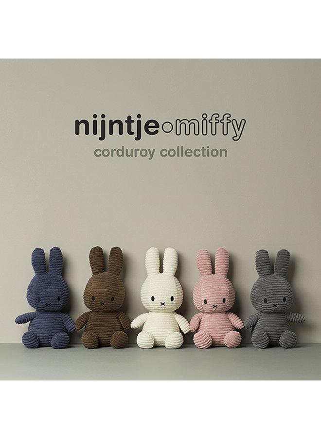 Miffy aus Cord sitzend Farbe Offwhite 23 cm