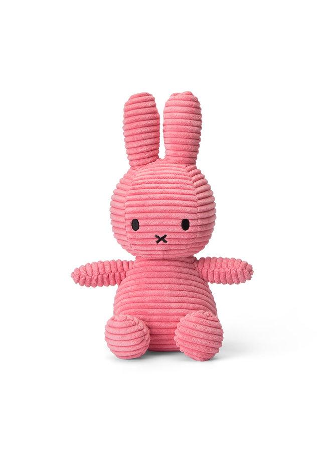Miffy sitzend Cord Bubblegum Pink 23cm