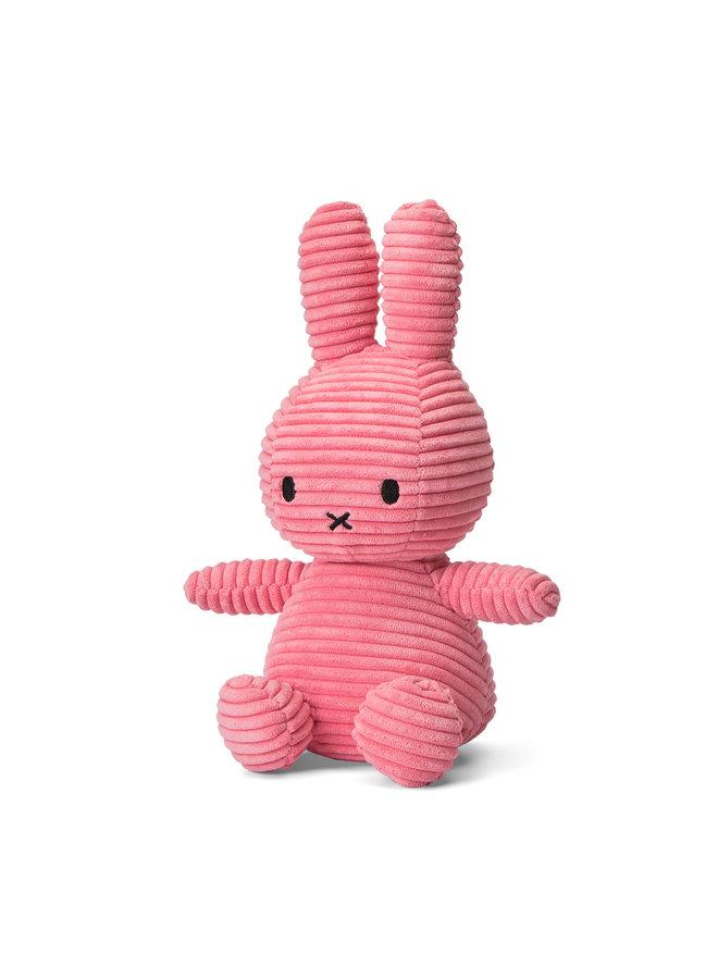 Miffy aus Cord sitzend Farbe Bubblegum Pink 23 cm