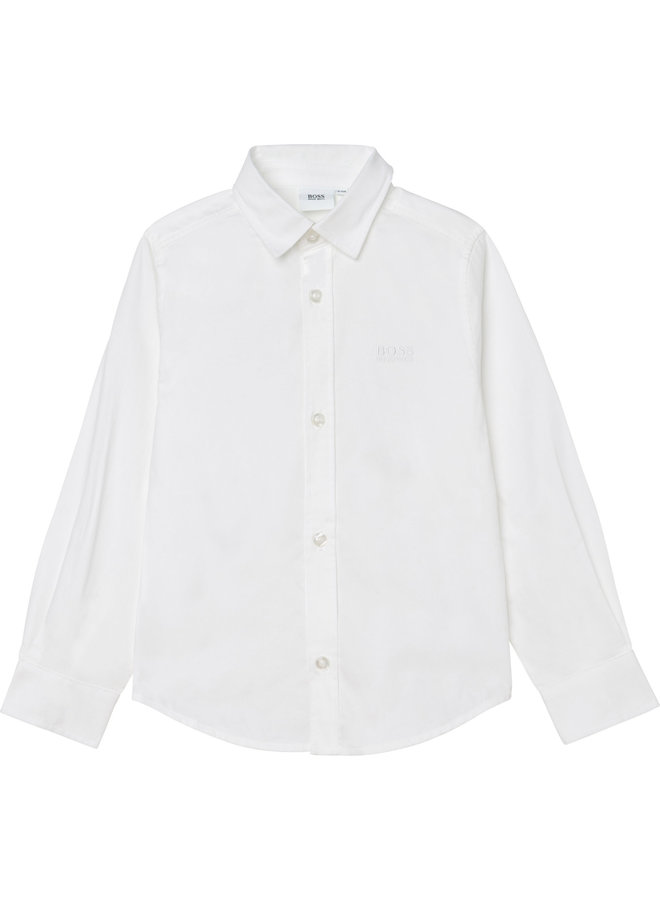 HUGO BOSS Kinder Hemd weiß