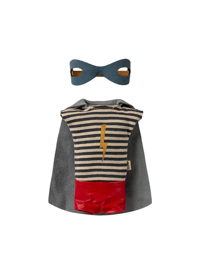 Maileg Maus Maxi Boy Superhero mit Umhang 50cm