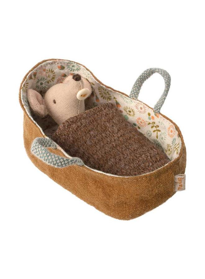 Maileg Baby Maus in Tragetasche 8cm