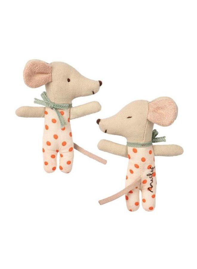 Maileg Baby Maus Girl in Streichholzschachtel 8cm