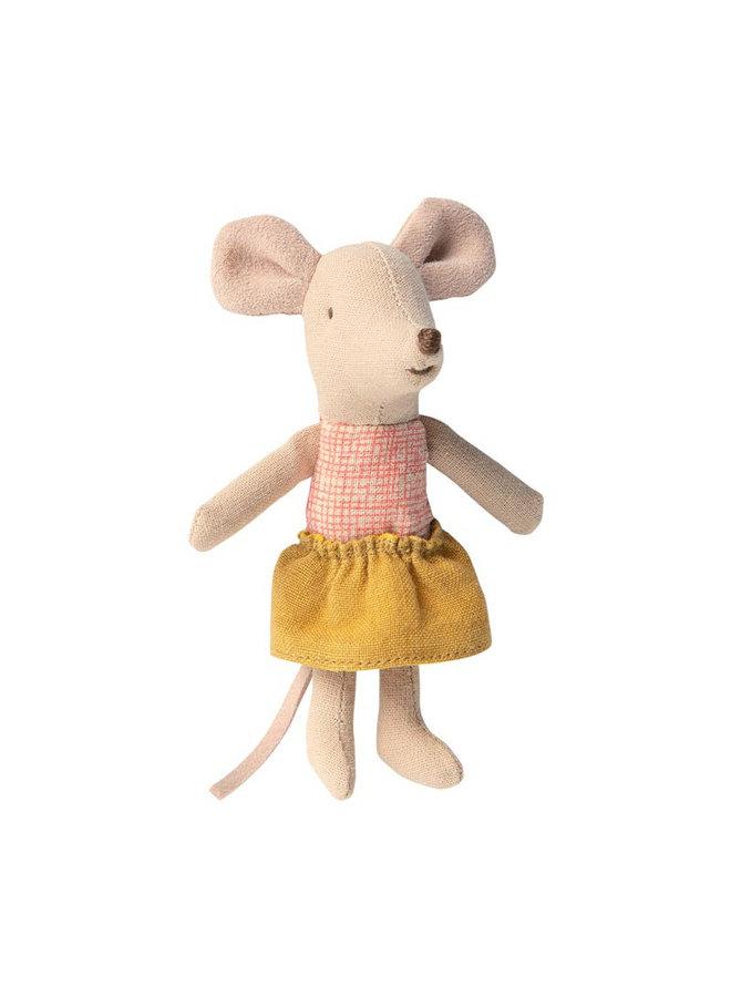 Maileg Little Sister Maus in der Schachtel 10cm