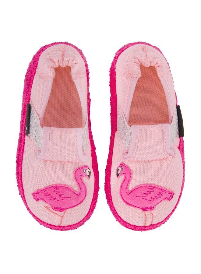 NANGA Hausschuhe Flamingo