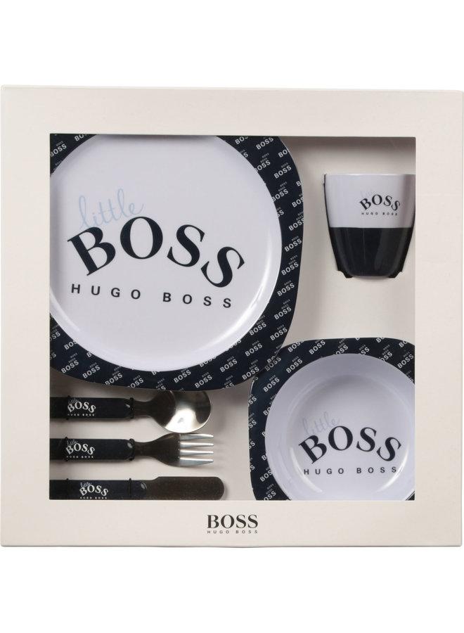 Hugo Boss Designer Geschirr Set tolles Geschenk