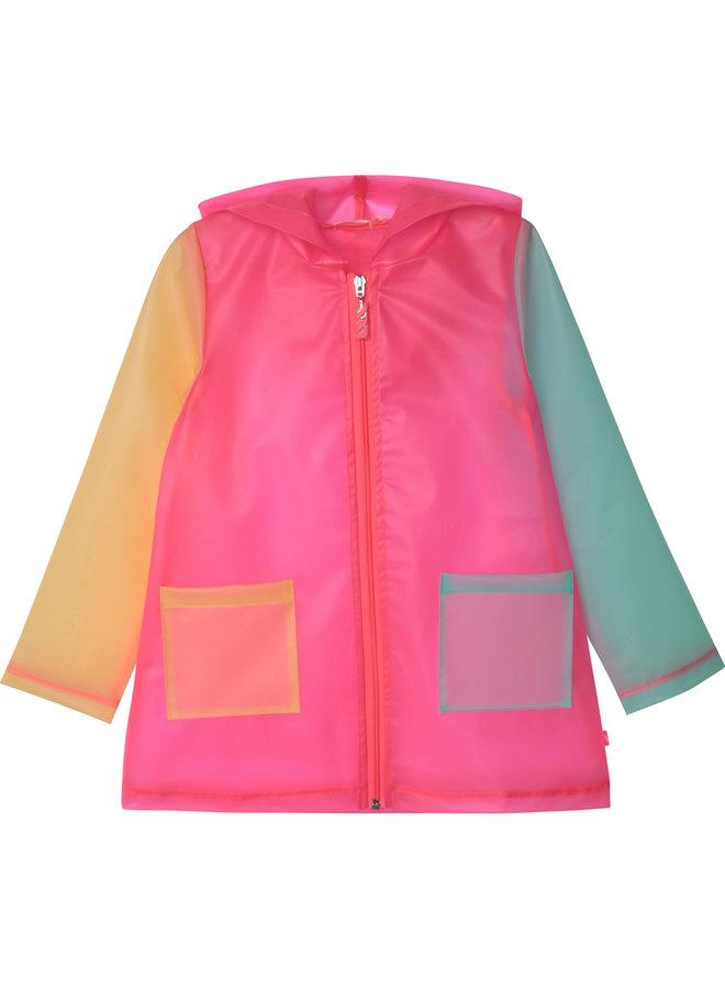 Billieblush Regenmantel mehrfarbig transparent