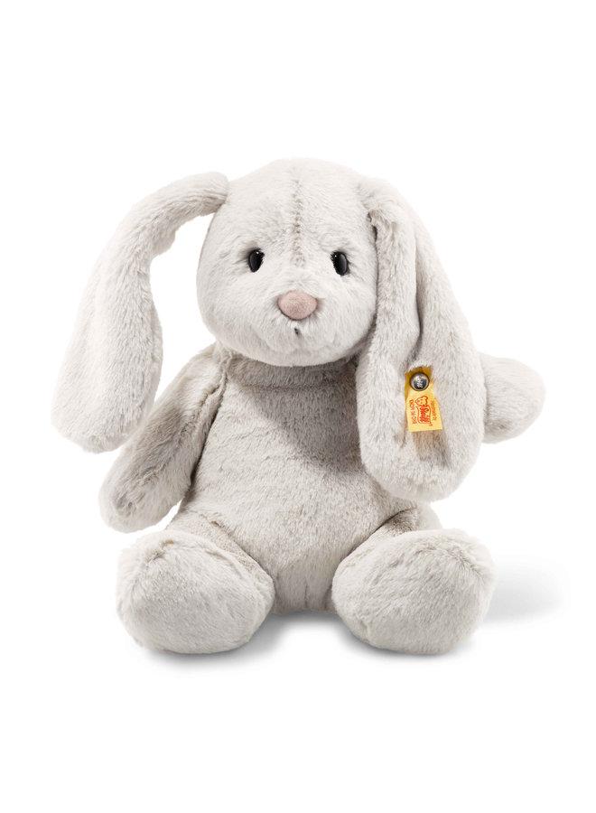 Steiff Soft Cuddly Friend Hoppie 28cm Hase hellgrau