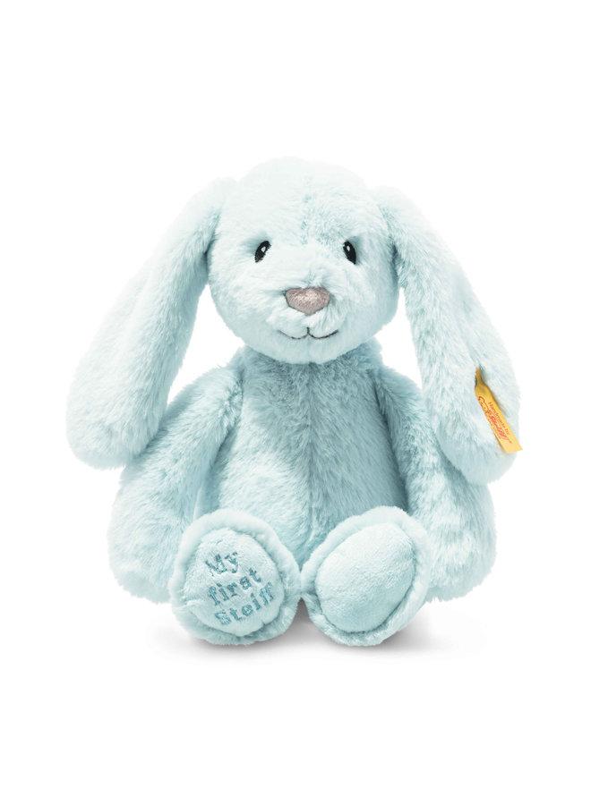 Steiff Soft Cuddly Friend Hoppie 28cm Hase hellblau