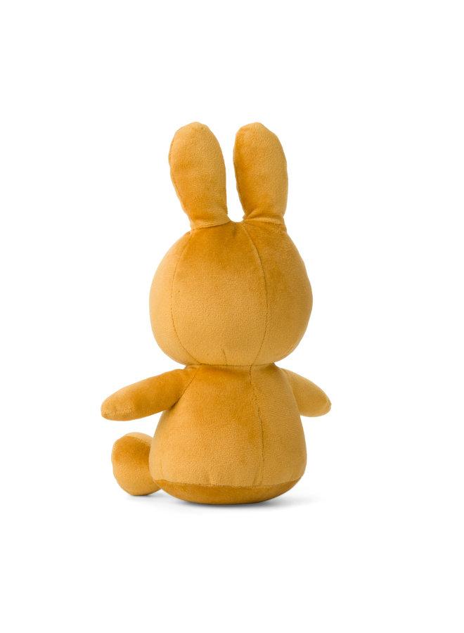 Miffy Sitting Velvet samtig ochre / ocker23 cm