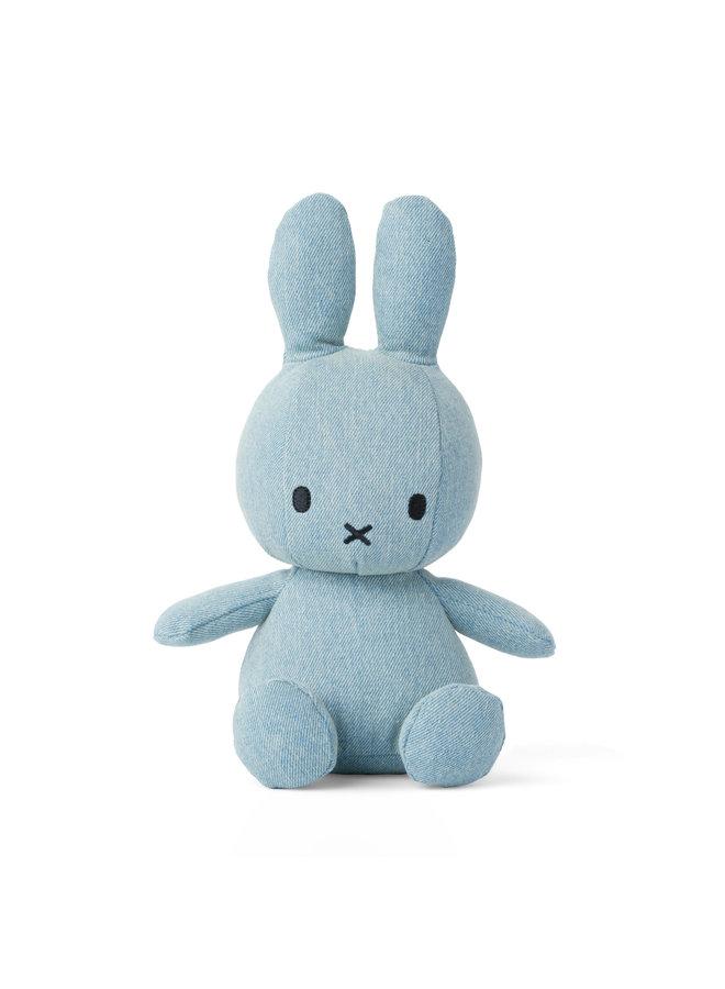 Miffy terry sitzend Light Wash Denim hellblau Jeans 23 cm