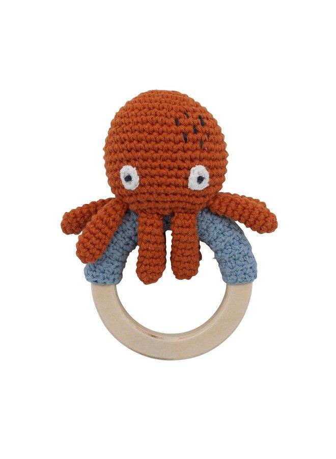 SEBRA Morgan the Octopus Häkelrassel