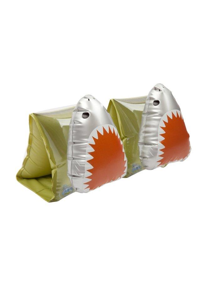 SUNNYLIFE Schwimmflügel SHARK ATTACK